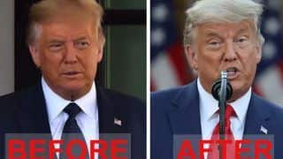 Donald Trump Changes Hair Colour From Orange To Silver After Election Loss, Internet Says Trump Hair Dye Is Conceded