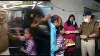 Viral Video देखकर सीएम योगी ने मासूम लड़की को भेजा गिफ्ट, पिता को पुलिस से छुड़वाया