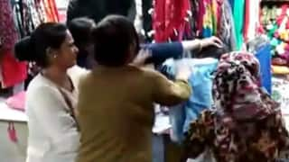 Watch: Woman Beats up Girl For Calling Her 'Aunty' While Shopping For Karwa Chauth