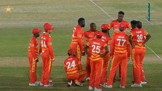 3rd ODI: Blessing Muzarabani Stars as Zimbabwe Beat Pakistan in Super Over