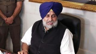 Sidhu a Misguided Missile, Doesn't Know Where To Go: SAD Chief Sukhbir Singh Badal