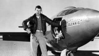 Chuck Yeager, The First Man to Travel Faster Than Speed of Sound, Dies at 97
