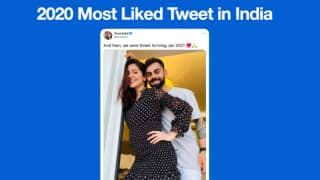 Most Liked Tweet of 2020? Yes, You Guessed It Right-It's Virat Kohli & Anushka Sharma's Baby Announcement!