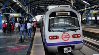 Delhi Metro's Blue Line to Hit briefly Today Due to Track Maintenance Work