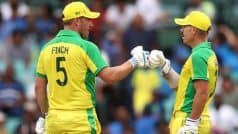 India vs Australia, 3rd ODI: Skipper Aaron Finch suggested 3 players who can replace David warner in canberra ODI