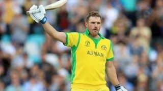 Aaron finch injury update australian skipper faces injury in hips during 1st t20i still not clear about playing in sydney t20i 4245352