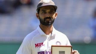 India vs Australia 2020: Ajinkya Rahane Becomes First Cricketer to Win Mullagh Medal, Bagged Player of The Match Award in Boxing Day Test