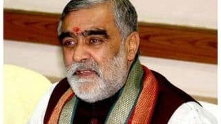 Union Minister Ashwini Choubey Tests Positive for COVID-19, Urges Those In Contact To Get Tested