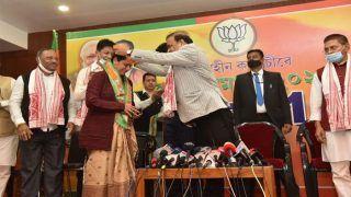 कांग्रेस से निष्कासित दो विधायकों ने बीजेपी ज्वाइन की, पार्टी के शीर्ष नेतृत्व पर उठाए सवाल