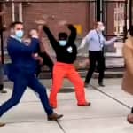 'Feeling Good as Hell': Boston Healthcare Workers Break Into Dance To Celebrate Arrival of Pfizer Vaccine | Watch Video