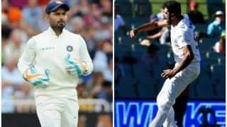 Boxing Day Test: Rishabh Pant Does an MS Dhoni, Passes Advice to Ravichandran Ashwin to Dismiss Matthew Wade in 2nd Test Between India-Australia   WATCH