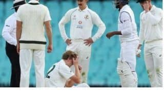 D n practice test match injured cameron green ruled out of 3 days day night practice match due to mild concussion after jaspirt bumrahs shot hit his head 4260643