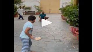 Viral Video: यूसुफ पठान के बेटे ने मारा ऐसा शॉट, डर गए इरफान! वायरल हो रहा वीडियो