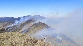 मणिपुर की सुप्रसिद्ध दजुकोउ घाटी में लगी भीषण आग, कोहिमा से आ रही नजर