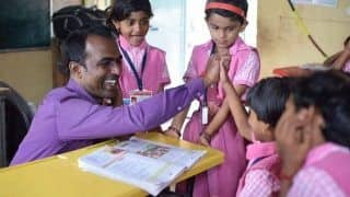 Making India Proud! This Maharashtra Teacher Has Won a Whopping Rs 7 Crore Prize For Promoting Girls' Education | WATCH