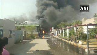 हैदराबाद: केमिकल फैक्ट्री में लगी भीषण आग, आठ लोग झुलसे; बचाव अभियान जारी