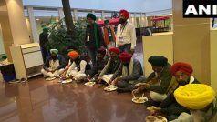 Kisan Andolan: केंद्र सरकार से बातचीत के लिए खुद का खाना लेकर गए किसान, विज्ञान भवन में बैठकर खाया