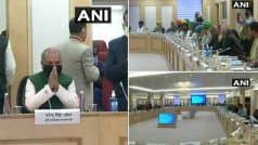 Farmer Protest latest News: किसान नेताओं और सरकार के बीच चौथे चरण की मीटिंग शुरू