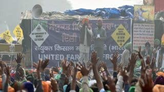 Farmer Unions Agree to Resume Talks With Centre on December 29, Say Ball Now in Government's Court   Top Developments