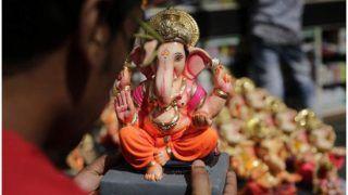 Ganesh Chaturthi: People Throng Mumbai's Dadar Market Amid Restrictions, Festive Mood Grips Delhiites As Well   Watch