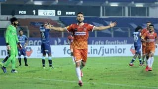 ISL 2020-21 Match Report: Igor Angulo, Ortiz Mendoza Shine as FC Goa Beat Kerala Blasters to Secure First Win of Season