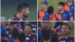 Shahid Afridi Wins Twitterverse With Golden Advice to Afghan Pacer Naveen-ul-Haq After Heated Argument With Mohammad Amir During LPL 2020 Game