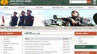Indian Army Recruitment Rally 2020: भारतीय सेना ने निकाली भर्ती रैली, 10वीं और 12वीं पास युवाओं के लिए सुनहरा मौका; ऐसे करें आवेदन