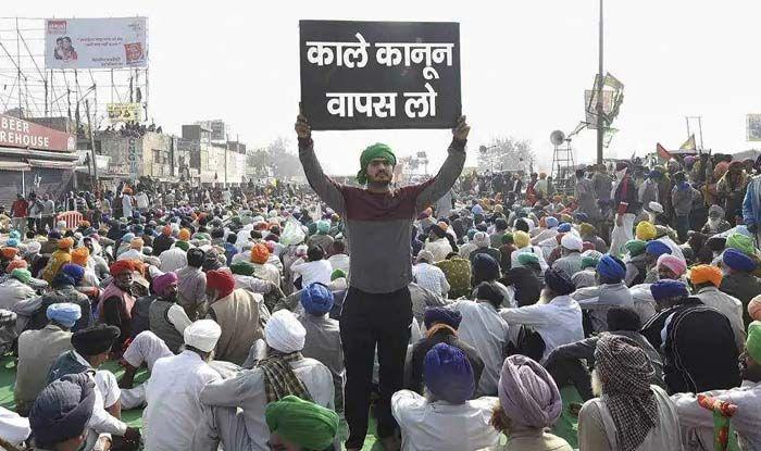 kisan Andolan 2020: किसानों की खुली चेतावनी! मांगें पूरी न हुईं तो  Delhi-Ghazipur Border पर तेज होगा प्रदर्शन - Kisan andolan updates farmers  to intensify protest on delhi ghazipur border if demands