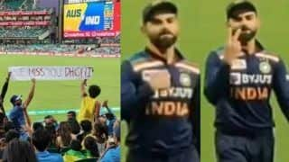 Virat Kohli's Reaction When Fans Say 'We Miss You MS Dhoni' During T20I at SCG is Going Viral | WATCH