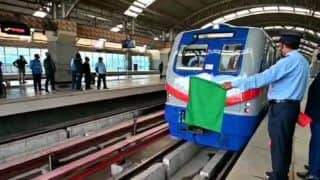 Good News for Devotees! Kolkata's Dakshineswar Temple Metro Conducts First Trial Run