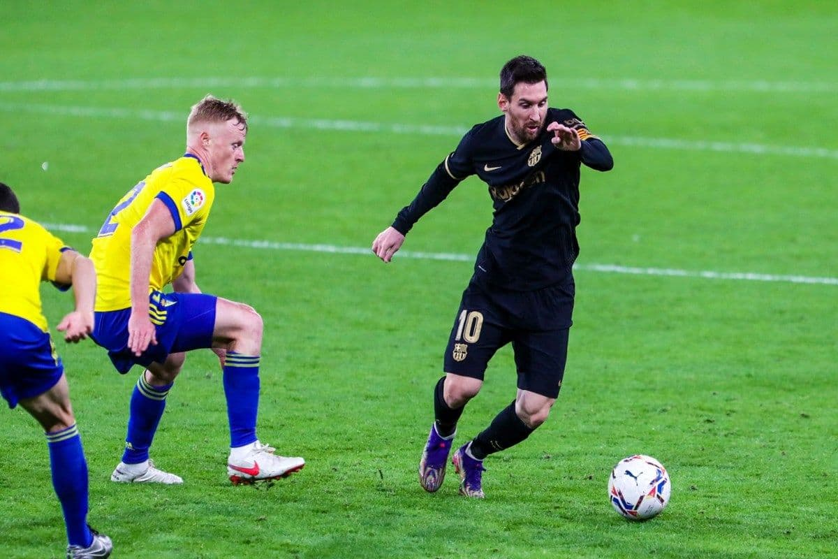 Cadiz 2-1 Barcelona: Lionel Messi Fails to Score as Ronald Koemans Men  Suffer Shock Defeat Against Newly-Promoted Club in LaLiga Clash