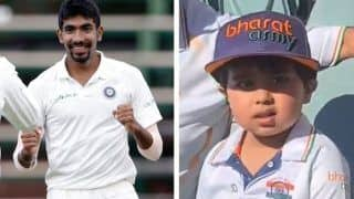 India vs Australia: जसप्रीत बुमराह के इस नन्हे फैन को देखा, बुमराह-बुमराह बोलकर करता रहा चीयर, VIDEO