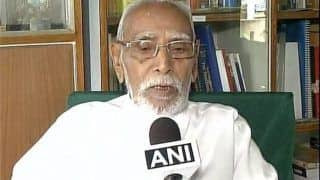 RSS Ideologue MG Vaidya Passes Away at 97 in Nagpur