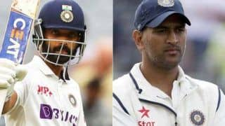 Rahane Could Equal Dhoni's BIG Captaincy Feat at SCG