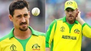 Trending sports news aaron finch responds to mitchell starcs poor form during odi series 4236042