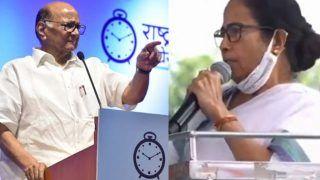 मोदी सरकार के खिलाफ पश्चिम बंगाल में लामबंद हो रहा विपक्ष, ममता बनर्जी के समर्थन में शरद पवार
