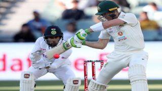 Australia vs India, 1st Test: दूसरे सेशन में अश्विन के धमाकेदार स्पेल के सामने ऑस्ट्रेलिया बैकफुट पर