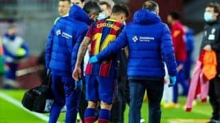 La Liga 2020-21: Barcelona's Philippe Coutinho Out For 8-10 Weeks With Knee Injury
