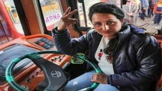 Breaking The Taboo: Pooja Devi, Mother of 3 Becomes Jammu And Kashmir's First Woman Bus Driver