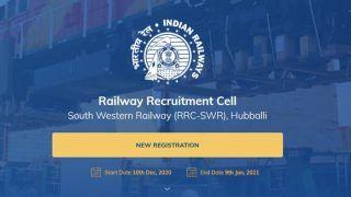 RRC SWR Apprentice Recruitment 2020 Full Details: रेलवे ने इस पद के लिए निकालीं बंपर भर्तियां, जानिए क्या है आखिरी तारीख और अप्लाई करने का तरीका
