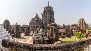Lingaraj Temple in Bhubaneswar Reopens For Devotees After Nine Months
