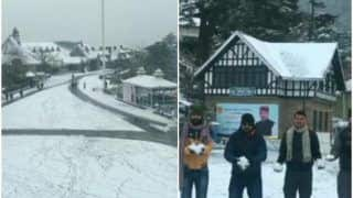 Shimla Wears Snow Blanket Ahead of New Year. What Are You Waiting For?