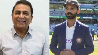 India vs Australia: सुनील गावस्कर ने सिर्फ इसलिए नहीं की अजिंक्य रहाणे की तारीफ