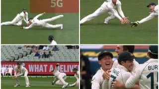Tim Paine Takes Brilliant Catch to Send Cheteshwar Pujara Packing During IND vs AUS 2nd Test at MCG | WATCH VIDEO