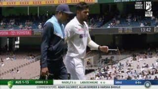 Another Injury Scare? Umesh Yadav Limps Off MCG on Day 3   WATCH