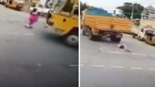 Miracles Exist! Elderly Woman Escapes Unhurt After Being Run Over by Truck | Watch it to Believe It!