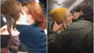 Russian Couples Kiss Inside Packed Metro Trains to Protest Covid-19 Restrictions, Trigger Criticism