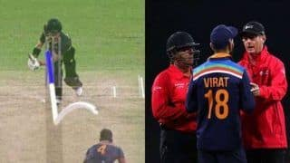 India vs australia 3rd t20i virat kohlis late drs call for matthew wade creates confusion 4252387