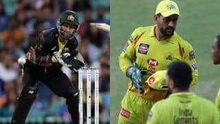2nd T20I: Matthew Wade Wins Internet as he Says 'Not Quick Enough as MS Dhoni' During India-Australia at SCG | WATCH