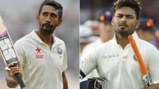 Rishabh Pant या Wridhiman Saha, सुनील गावस्कर ने ऑस्ट्रेलिया में विकेटकीपिंग के लिए बताई अपनी पहली पसंद